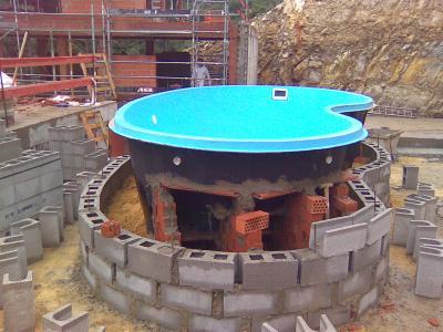 Piscinas de obra elevadas perfect piscina with piscinas for Piscina elevada obra