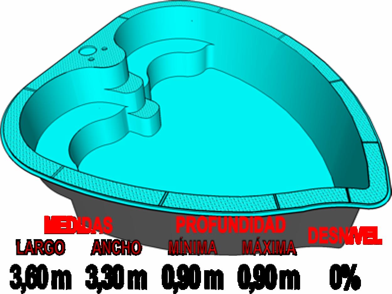 Barpool piscinas prefabricadas de poliester reforzadas for Precio piscina pequena obra
