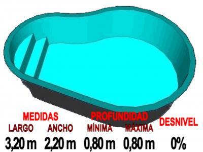 Piscinas de fibra piscina de poliester piscinas de for Precio estanques prefabricados
